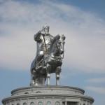 Reiterstatue von Dschinsik Khan
